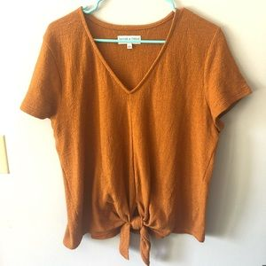 Madewell Texture & Thread V Neck Top
